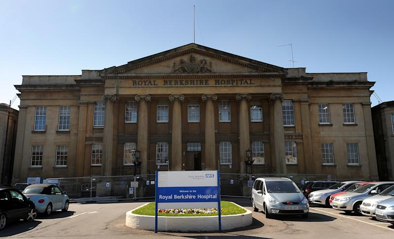 General view of the Royal Berkshire Hospital in Reading