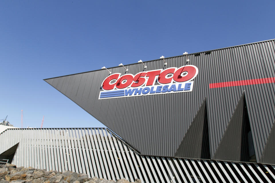 Costco Wholesale sign. Source: Getty Images