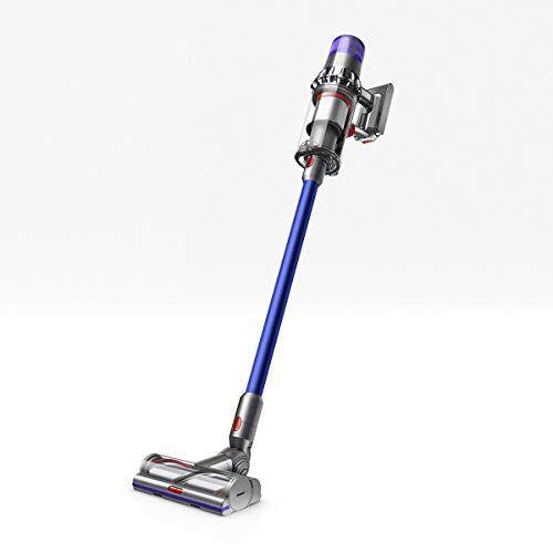 """<p><strong>Dyson</strong></p><p>amazon.com</p><p><strong>$599.99</strong></p><p><a href=""""https://www.amazon.com/dp/B07NX8XBMP?tag=syn-yahoo-20&ascsubtag=%5Bartid%7C2139.g.35311665%5Bsrc%7Cyahoo-us"""" rel=""""nofollow noopener"""" target=""""_blank"""" data-ylk=""""slk:BUY IT HERE"""" class=""""link rapid-noclick-resp"""">BUY IT HERE</a></p><p>There's no vacuum quite like a Dyson. The V11 Torque is the brand's most intelligent, powerful cordless stick vac to date. It works wonders in picking up stubborn pet hair, allergens and more. With 60 hours of cordless run time, the advanced smart machine optimizes suction and purification preferences at first touch. It's minimal in design and light and weight, making it easy to store in tiny spaces.</p>"""