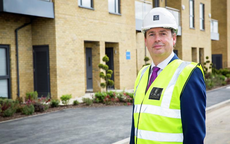 Cala Homes boss Alan Brown said the investment was a