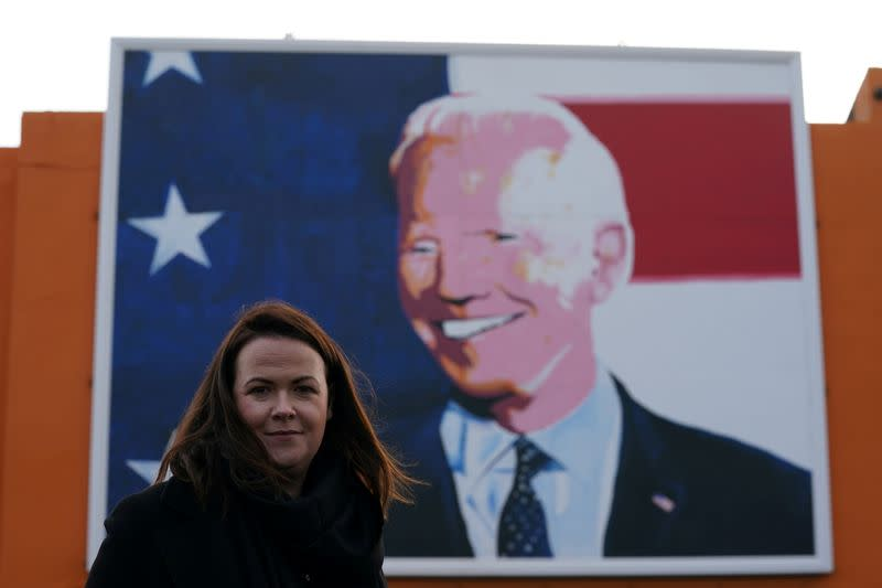 FILE PHOTO: Laurita Blewitt who is a cousin of Democratic U.S. presidential nominee and former Vice President Joe Biden
