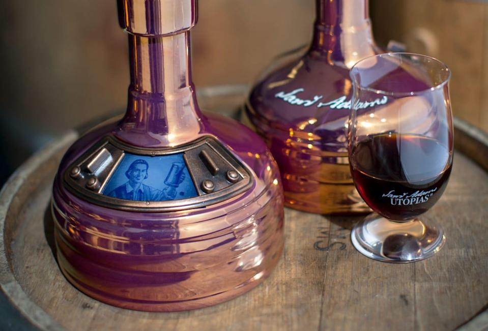 Samuel Adams released its new batch of seasonal Utopias beers, which have an ABV at 28 percent. (Credit: Samuel Adams)
