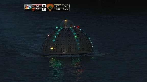 Solving the mystery behind the UFO spotted in McCovey Cove