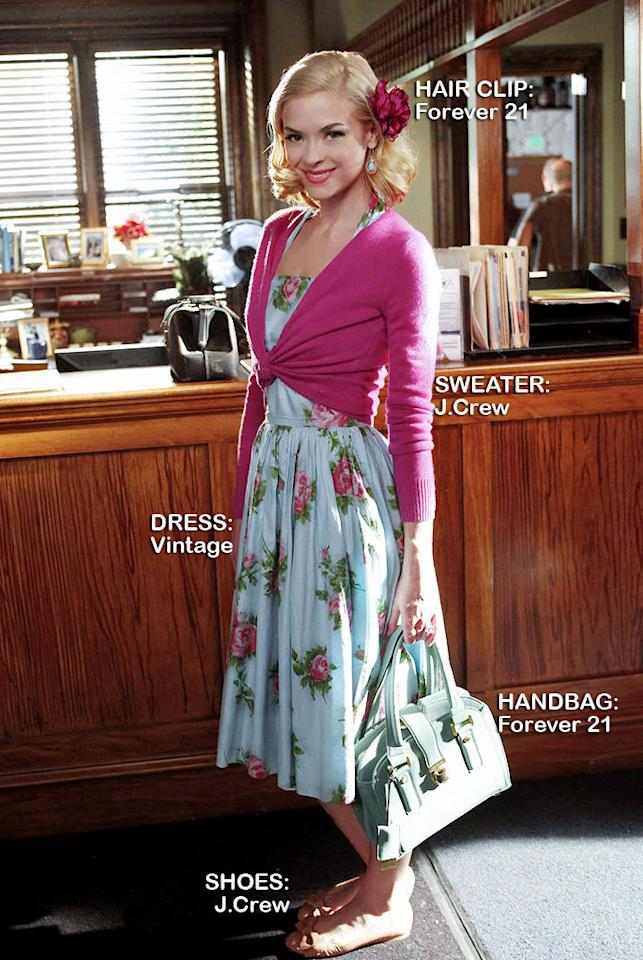 "<a>Jaime King</a> as Lemon Breeland in the Season 1 episode ""The Undead & the Unsaid."""