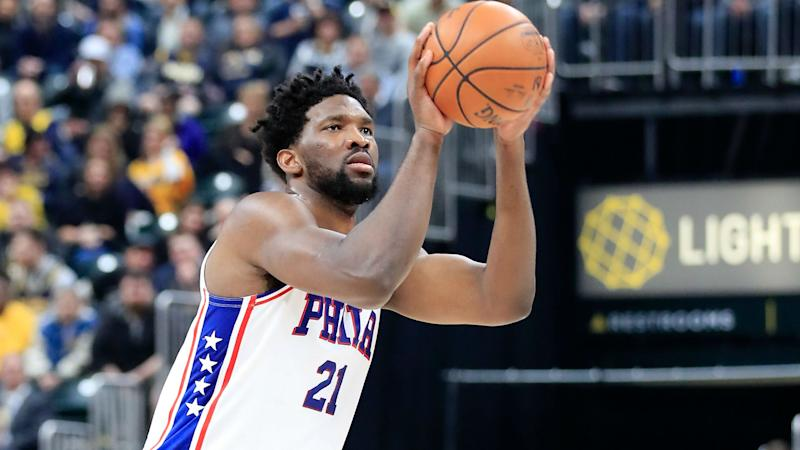 Embiid and 76ers send message in win over Lakers, Warriors edge Heat