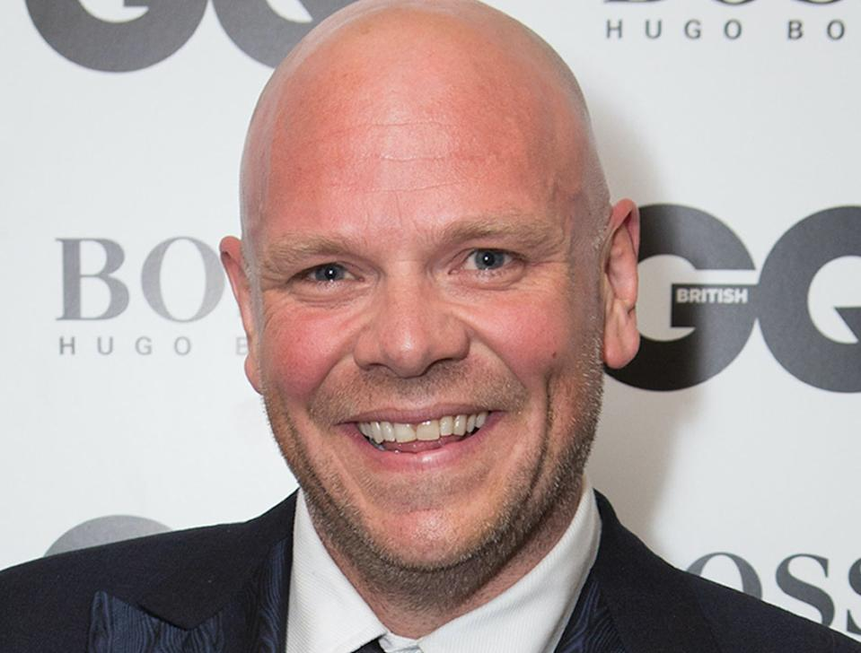 File photo dated 2/9/2014 of Tom Kerridge who has said he is not comfortable with fame, and that he finds it unusual when fans want to take pictures with him.