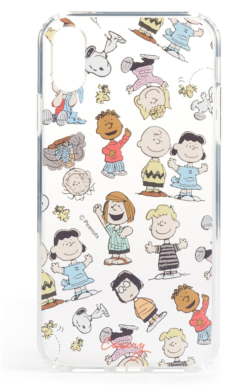 The Casery x Peanuts Dance Party iPhone X & Xs Case