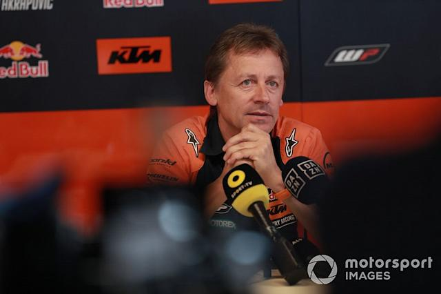 "Mike Leitner, Team manager Red Bull KTM Factory Racing <span class=""copyright"">Gold and Goose / LAT Images</span>"