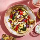 <p>Because of its semi-firm texture, halloumi is prone to sticking to the grill. Be sure to oil the grill grates well before adding the brined Cypriot cheese.</p>