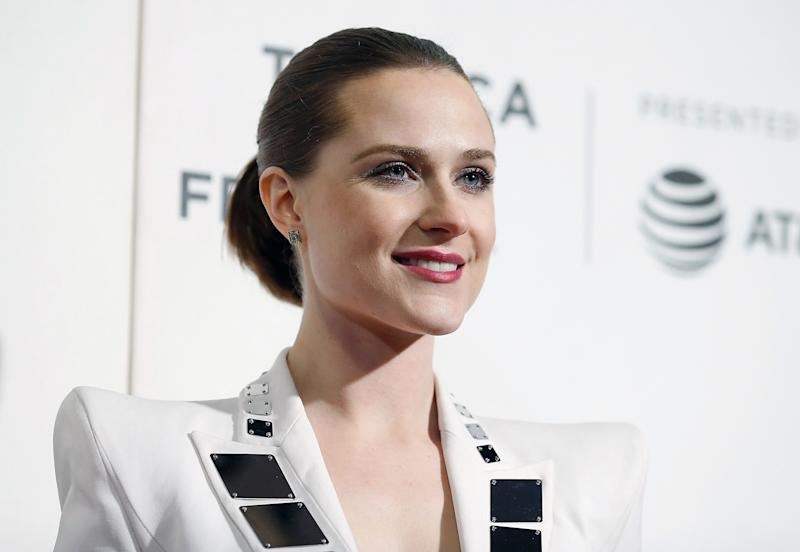 Evan Rachel Wood shut down Paris Hilton's comment. [Photo: Getty]