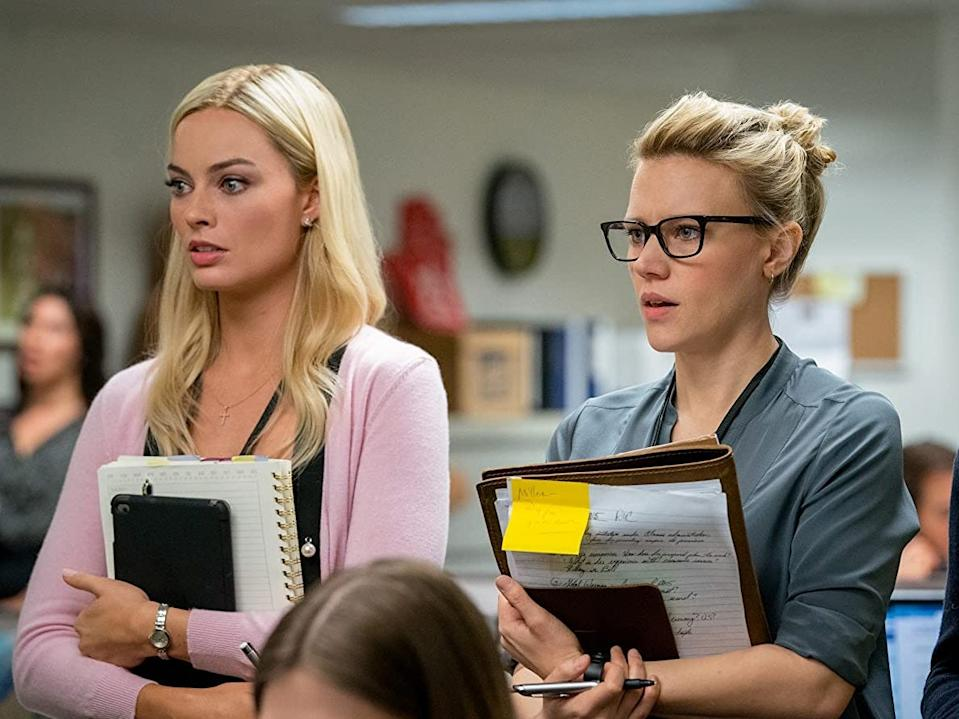 """Margot Robbie and Kate McKinnon costarred in """"Bombshell."""""""