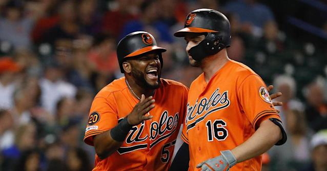 Orioles' offense has improved across the board in the second half