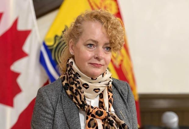 Aboriginal Affairs Minister Arlene Dunn on Wednesday said she wouldn't use the same terminology Higgs used to describe the money the Madawaska Maliseet First Nation collected under the agreement last year.