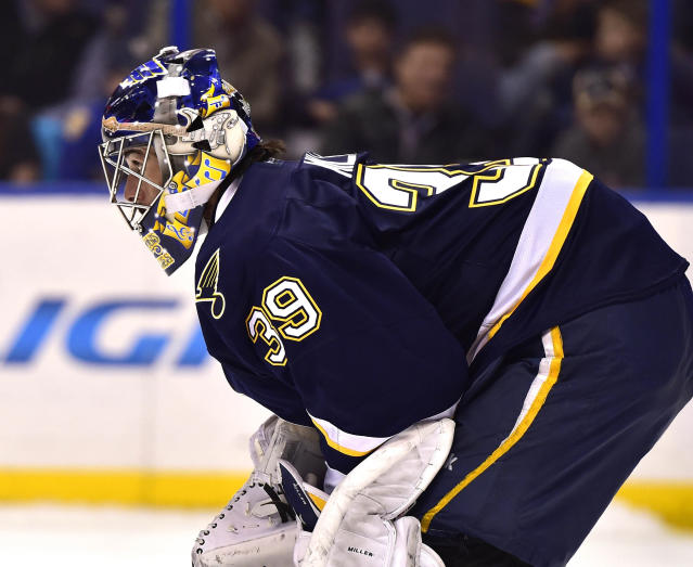 The Stanley Cup is in the details for devoted Blues goalie Ryan Miller