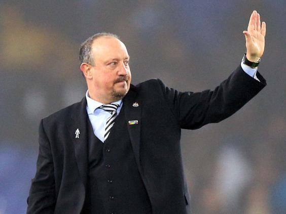 Rafa Benitez will leave Newcastle United at the end of the month (PA)