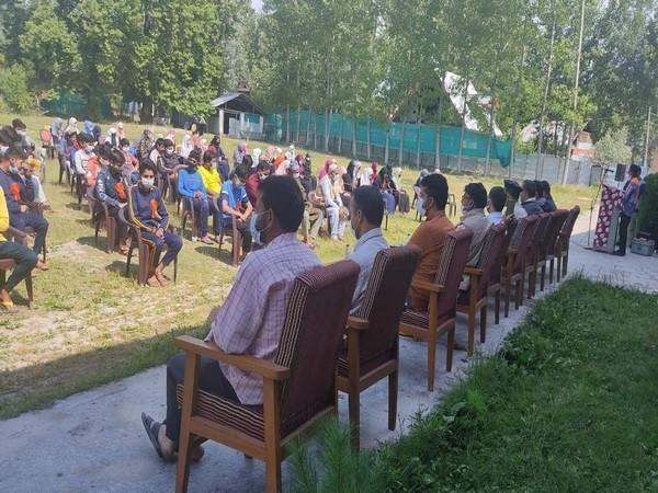 Several people joined the conference on 'Philosophy of Sufism' at Budgam Town Hall