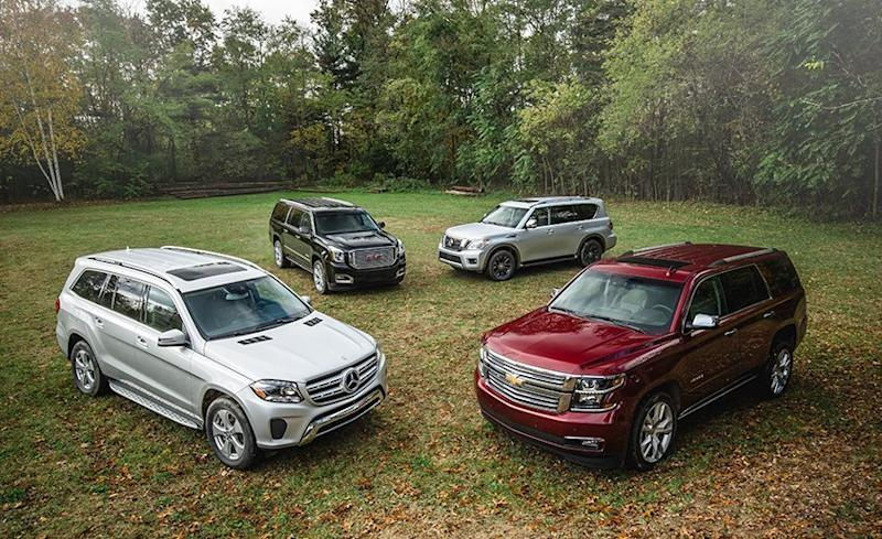 The Mercedes-Benz GLS450 Is the Best Large SUV - 2017 ...