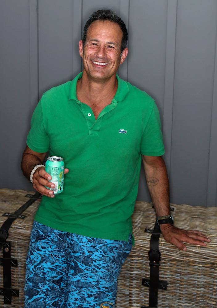 Sam Calagione of Dogfish Head at his Lewes home.