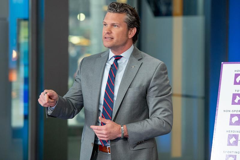 Fox News Host Pete Hegseth Jokes He Doesn't Wash His Hands