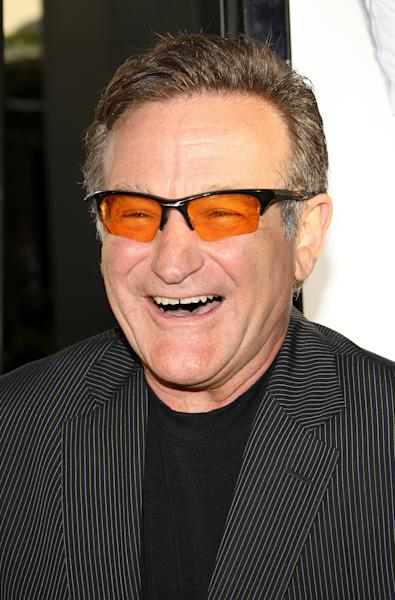 Robin Williams, pictured on June 25, 2007 at the Pacific Cinerama Dome in Hollywood, California (AFP Photo/Robyn Beck)