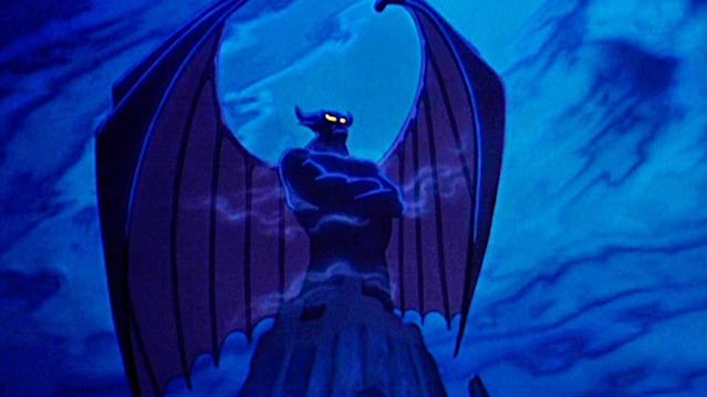 "<p>Lugosi served as the model for the demonic Chernabog; here is how the evil deity appears in <i>Fantasia</i>'s classic <a href=""https://www.youtube.com/watch?v=SLCuL-K39eQ:"" rel=""nofollow noopener"" target=""_blank"" data-ylk=""slk:'Night on Bald Mountain' segment"" class=""link rapid-noclick-resp"">'Night on Bald Mountain' segment</a>.<br>(Credit: Disney) </p>"