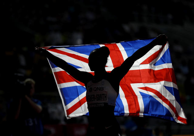 UK Athletics could face up to a £27m cut in funding. (AP Photo)