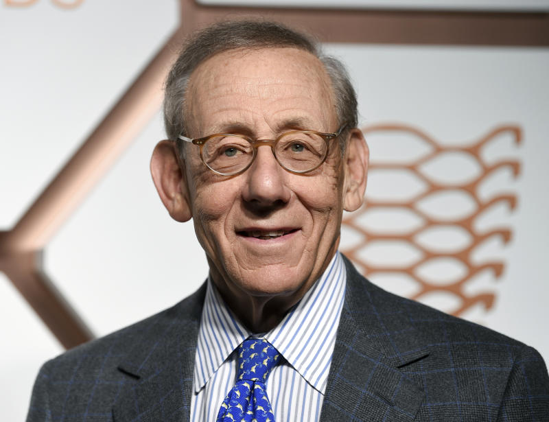 Related Companies chairman Stephen Ross attends the grand opening of the Shops & Restaurants at Hudson Yards on Thursday, March 14, 2019, in New York. (Photo by Evan Agostini/Invision/AP)