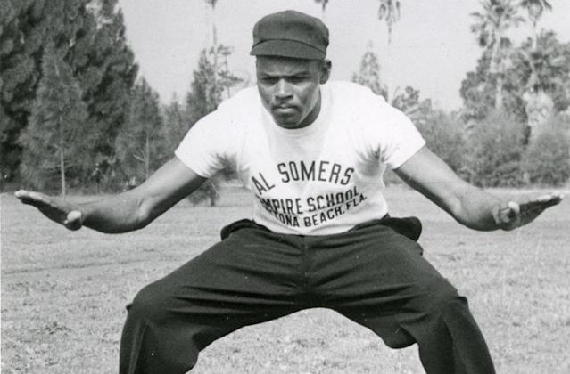 Bob Motley was the first to attend the Al Somers umpiring school. (Negro League Baseball Museum)