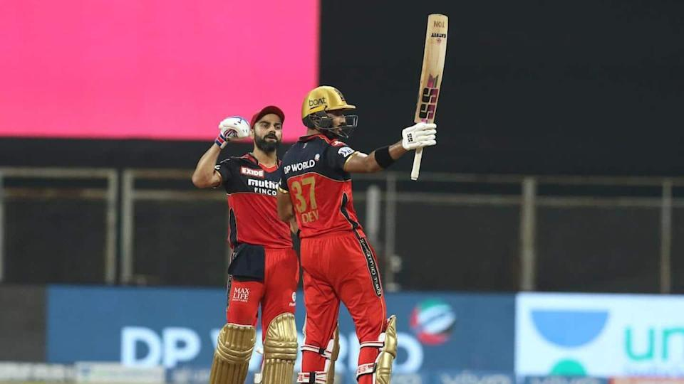 IPL 2021, RCB thrash RR to remain unbeaten: Records broken