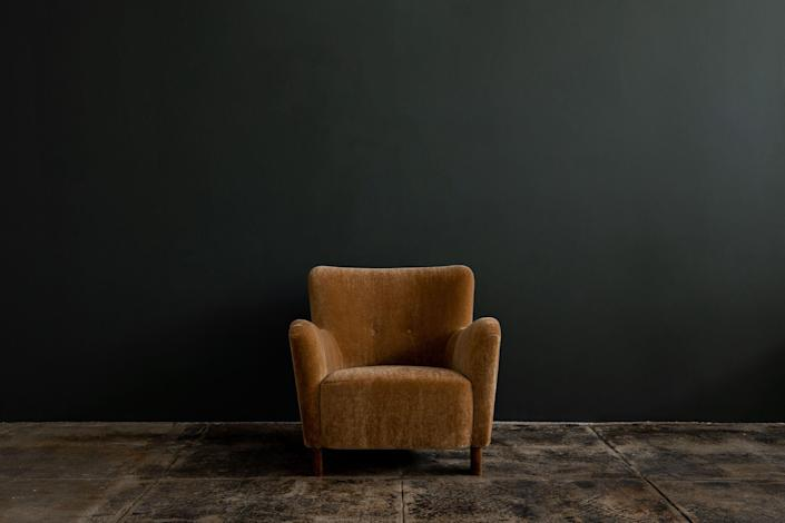 """<p><strong>Fritz Hansen Armchair</strong></p><p>galeriehalf.com</p><p><a href=""""https://galeriehalf.com/product/1669-armchair-in-mohair/"""" rel=""""nofollow noopener"""" target=""""_blank"""" data-ylk=""""slk:Shop Now"""" class=""""link rapid-noclick-resp"""">Shop Now</a></p><p>Interior designer <a href=""""https://www.mattblackeinc.com/"""" rel=""""nofollow noopener"""" target=""""_blank"""" data-ylk=""""slk:Cliff Fong"""" class=""""link rapid-noclick-resp"""">Cliff Fong</a> first opened <a href=""""https://galeriehalf.com/"""" rel=""""nofollow noopener"""" target=""""_blank"""" data-ylk=""""slk:Galerie Half"""" class=""""link rapid-noclick-resp"""">Galerie Half</a> with co-founder Cameron Smith in 2005 as a way to showcase and sell French and Danish midcentury pieces. After immediate success, the duo quickly began expanding their inventory and eventually moved into their iconic Melrose Avenue location in 2009. Today, many regard Galerie Half as a purveyor of 20th-century design, with renowned pieces from Charlotte Perriand and Fritz Hansen filling their shop. </p>"""
