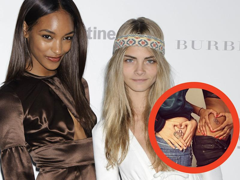 cara and jourdan tattoo