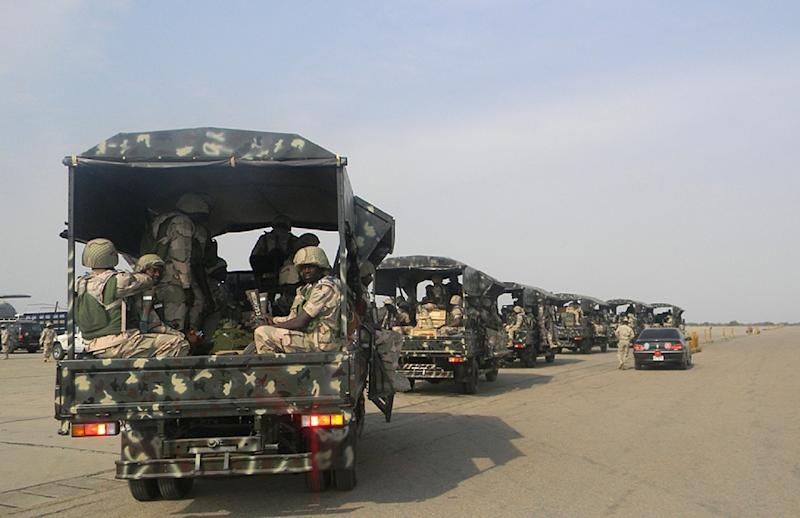 Jihadist fighters have since July last year targeted dozens of Nigerian military bases