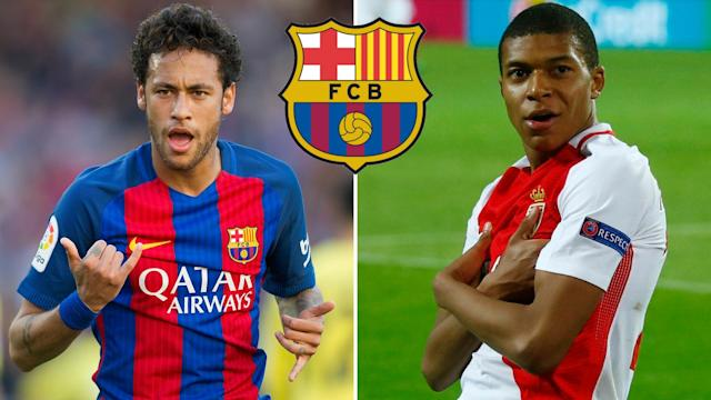 Barcelona could use the Neymar cash to beat Real Madrid to Kylain Mbappe