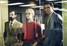 Scoot McNairy, Mackenzie Davis, Lee Pace | Photo Credits: James Minchin III/AMC