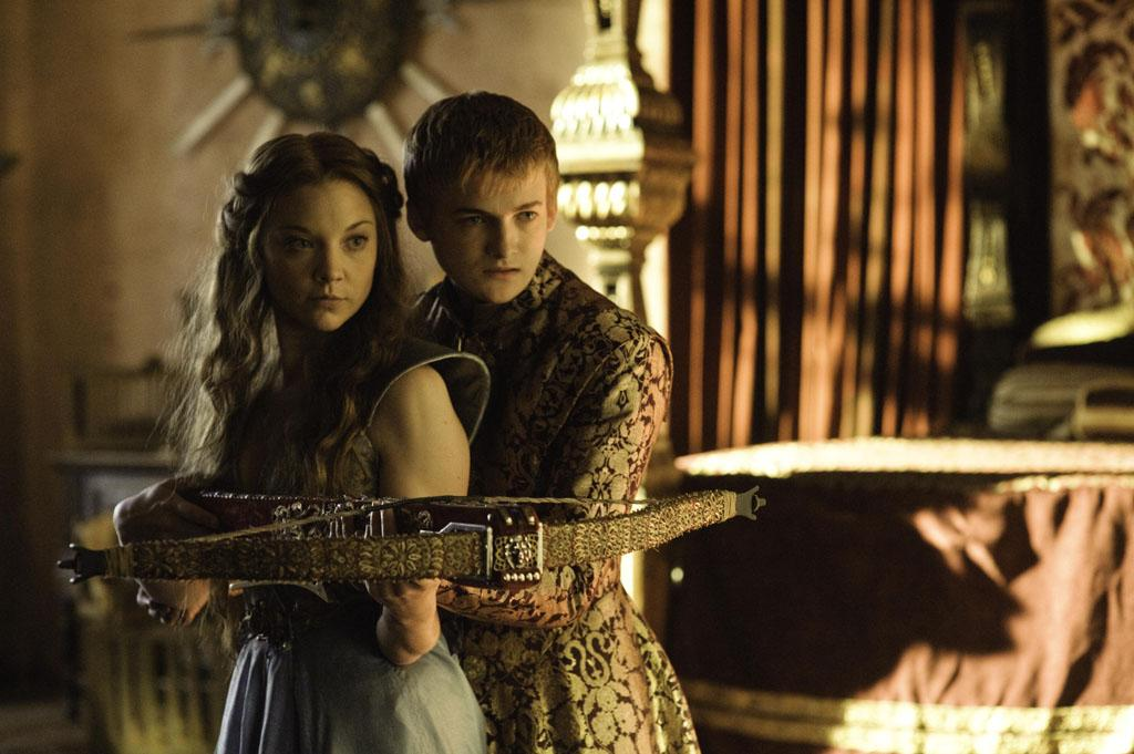 Margaery Tyrell (Natalie Dormer) will do anything to be a queen … even if it means putting up with the spoiled King Joffrey (Jack Gleeson).