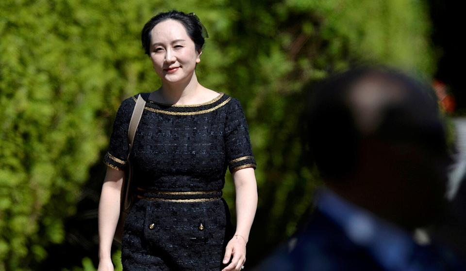 Meng Wanzhou leaves her home to attend a court hearing in Vancouver, British Columbia, on May 27. Photo: Reuters