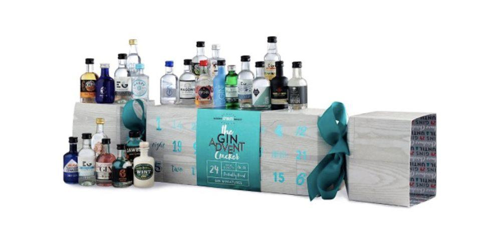 """<p>Stock up on ice and mixers, because this cracker will definitely bring the party this year. Behind each door you'll find a different 5cl miniature bottle of gin which has been carefully selected to bring a wide selection of different flavours and styles. </p><p><strong><em><a rel=""""nofollow"""" href=""""https://www.first4hampers.com/christmas-c441/gin-advent-cracker-p2370""""> BUY NOW</a> £125.00, First4Hampers</em></strong></p>"""
