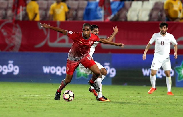 Edgar Bruno dedicated his first goal to the fans as Lekhwiya keep hold of top spot.