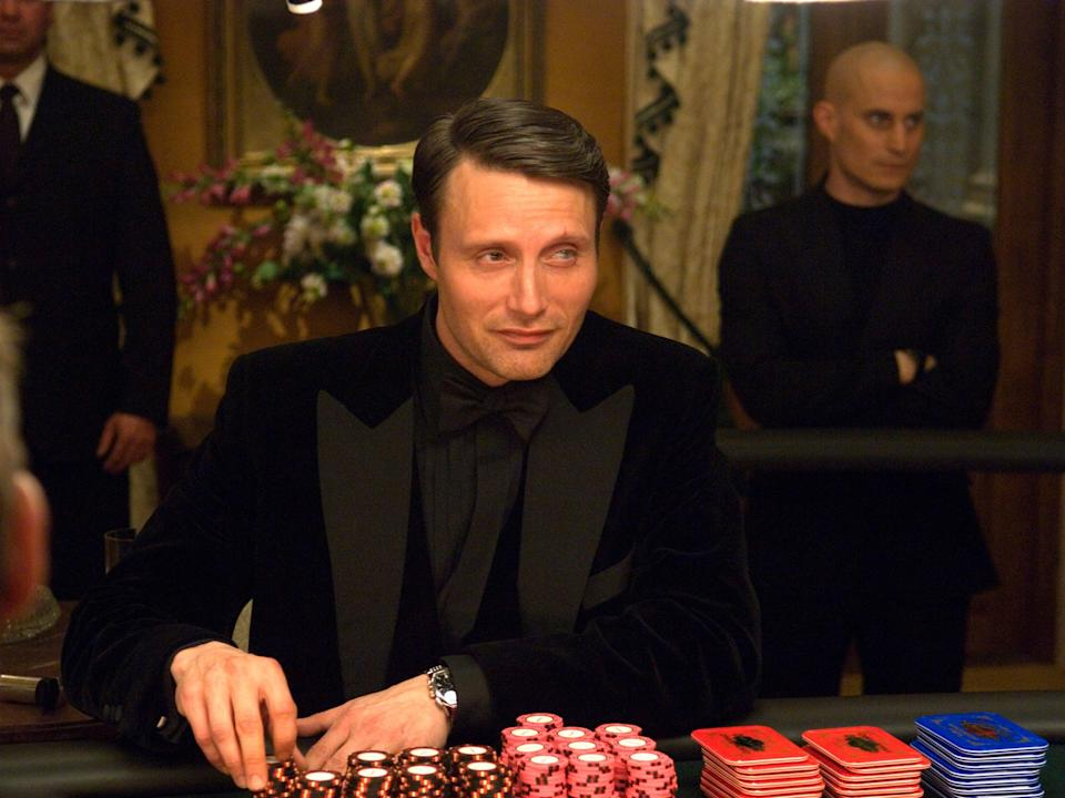 Mads Mikkelsen as Le Chiffre in Casino Royale (Danjaq, LLC and United Artists)