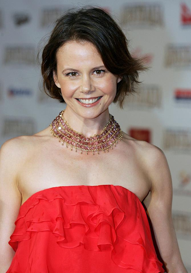 """<a href=""""http://movies.yahoo.com/movie/contributor/1808660748"""">Antonia Kidman</a> at the Sydney premiere of <a href=""""http://movies.yahoo.com/movie/1809878217/info"""">Australia</a> - 11/18/2008"""