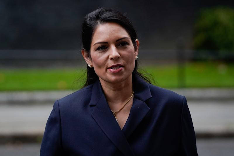 Britain's Home Secretary Priti Patel arrives in Downing Street in central London on September 8, 2020. The Home Office said it was working to stamp out exploitation and abuse. Photo: Niklas Halle'n / AFP via Getty
