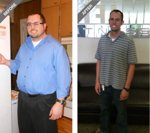 Frank Pace, Bloomington, Minn., Weight Loss Challenge National Male Winner: In 90 days, Frank lost 1 ...
