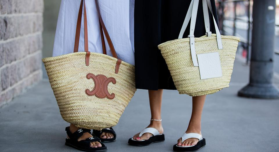 Is it time to switch over from your mini cross body bag to a larger tote? We think so.  (Getty Images)