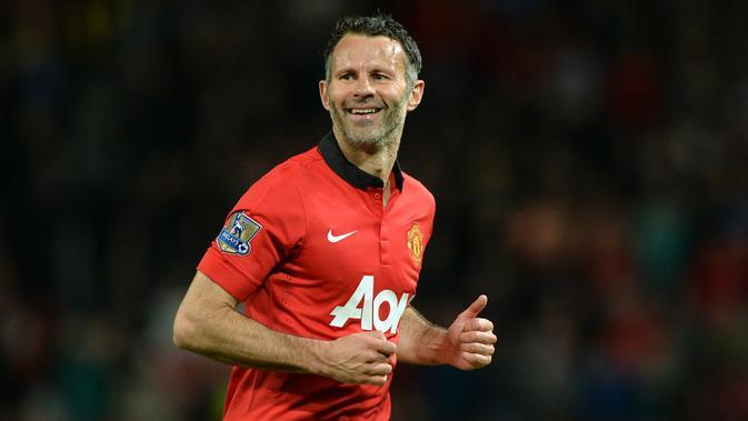 9. Ryan Giggs (Wales): 109 gol. (AFP/Paul Ellis)