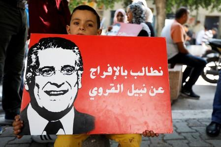 Tunisian court keeps presidential candidate in detention - lawyer