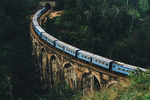 A scenic train route if ever there was one - Credit: getty