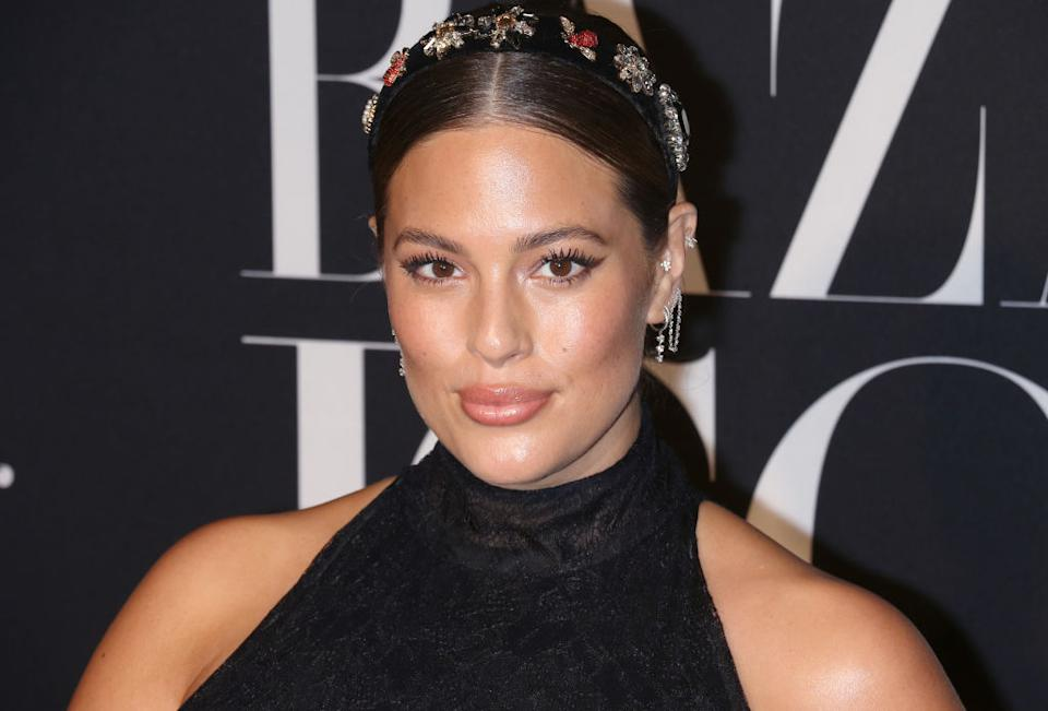 Ashley Graham has shared a video clip of her postpartum stretch marks, pictured here September 2019. (Getty Images)