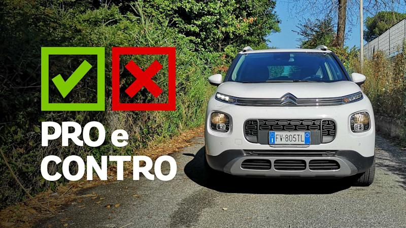 Citroen C3 Aircross 1.5 BlueHDi EAT6, pro e contro