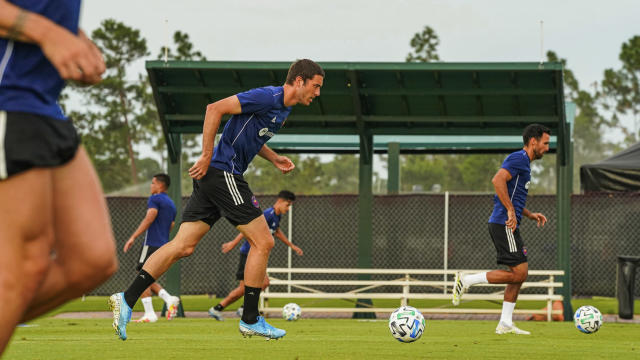 Training in the MLS bubble in Orlando has a youth camp vibe, according to certain players. (Via Chicago Fire)