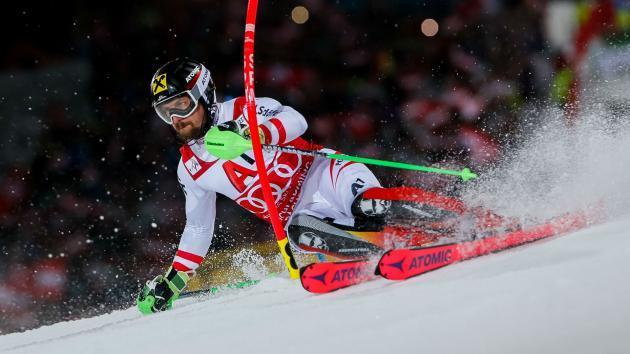 <p>Victorious Hirscher apologises to Kristoffersen for Schladming snowball shower</p>